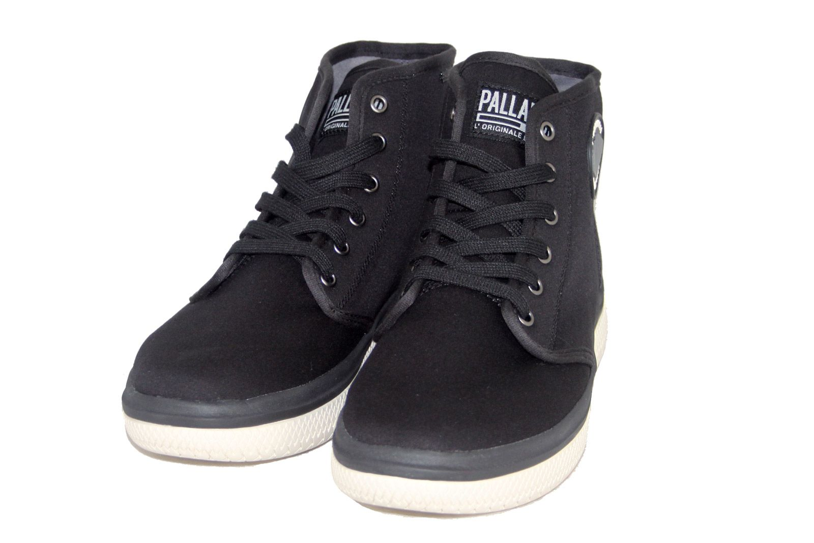 Palladium Crushion CVS 75497-060 Men/'s Black Lace-up Ankle Boots