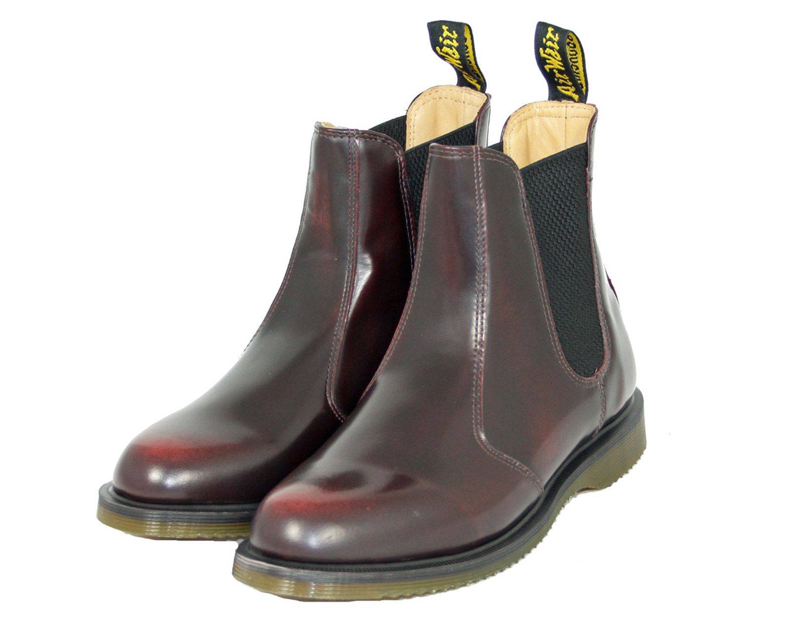 Dr Martens Chelsea Flora Cherry Red