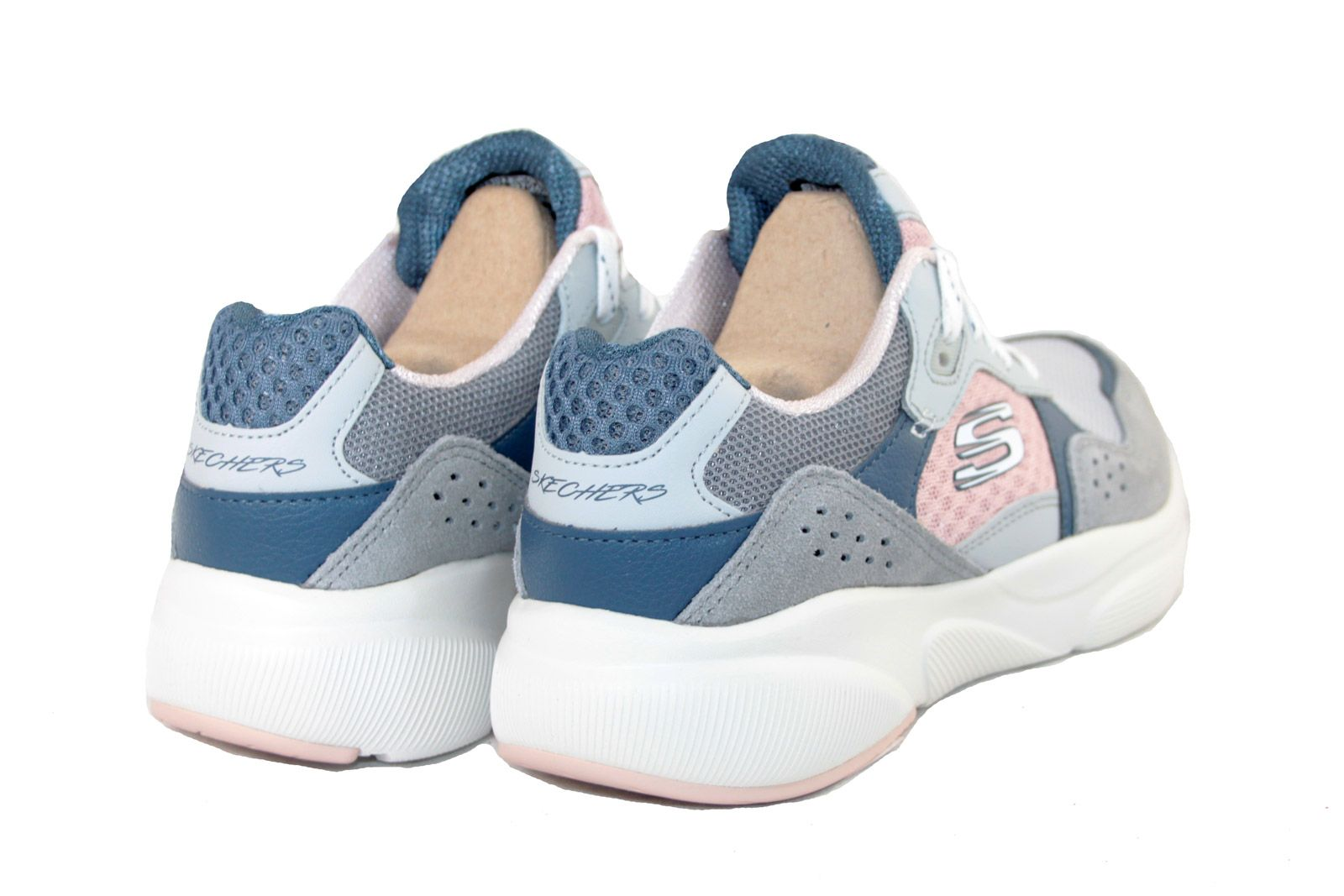 sala Facilitar lapso  Skechers 13019 Meridian Charted Grey/Pink | Skechers - Womens | China Blue  Shoes